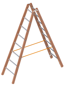 Layher  Combination double ladder Art nr: 1028-xxx""