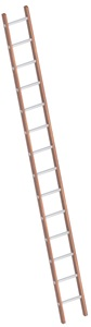 Layher Combination single ladder Art nr: 1029-xxx