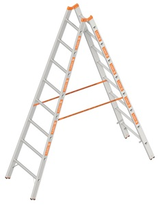 Layher TOPIC Double rung ladder Art nr: 1039-xxx