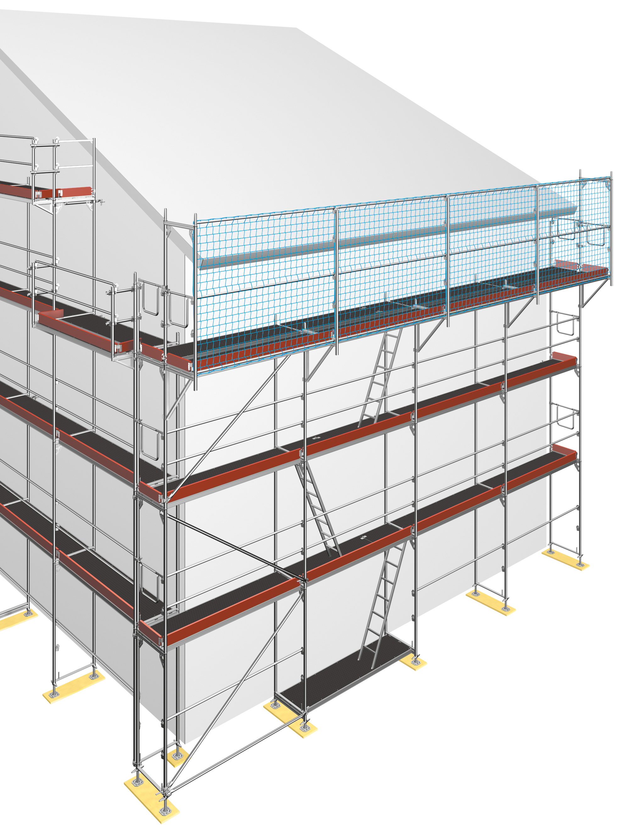 Layher SpeedyScaf renovation scaffolding