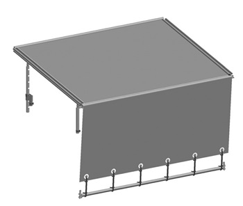 Layher Scaffold cover