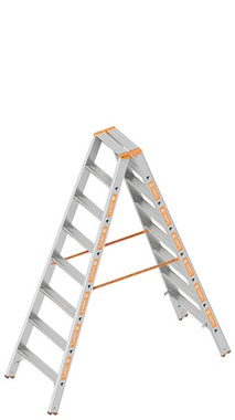 Layher TOPIC Double step ladder Art nr: 1043-xxx